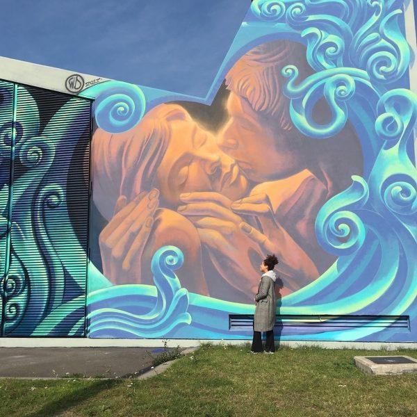 De stad als canvas: fietsend langs de mooiste street art in Antwerpen