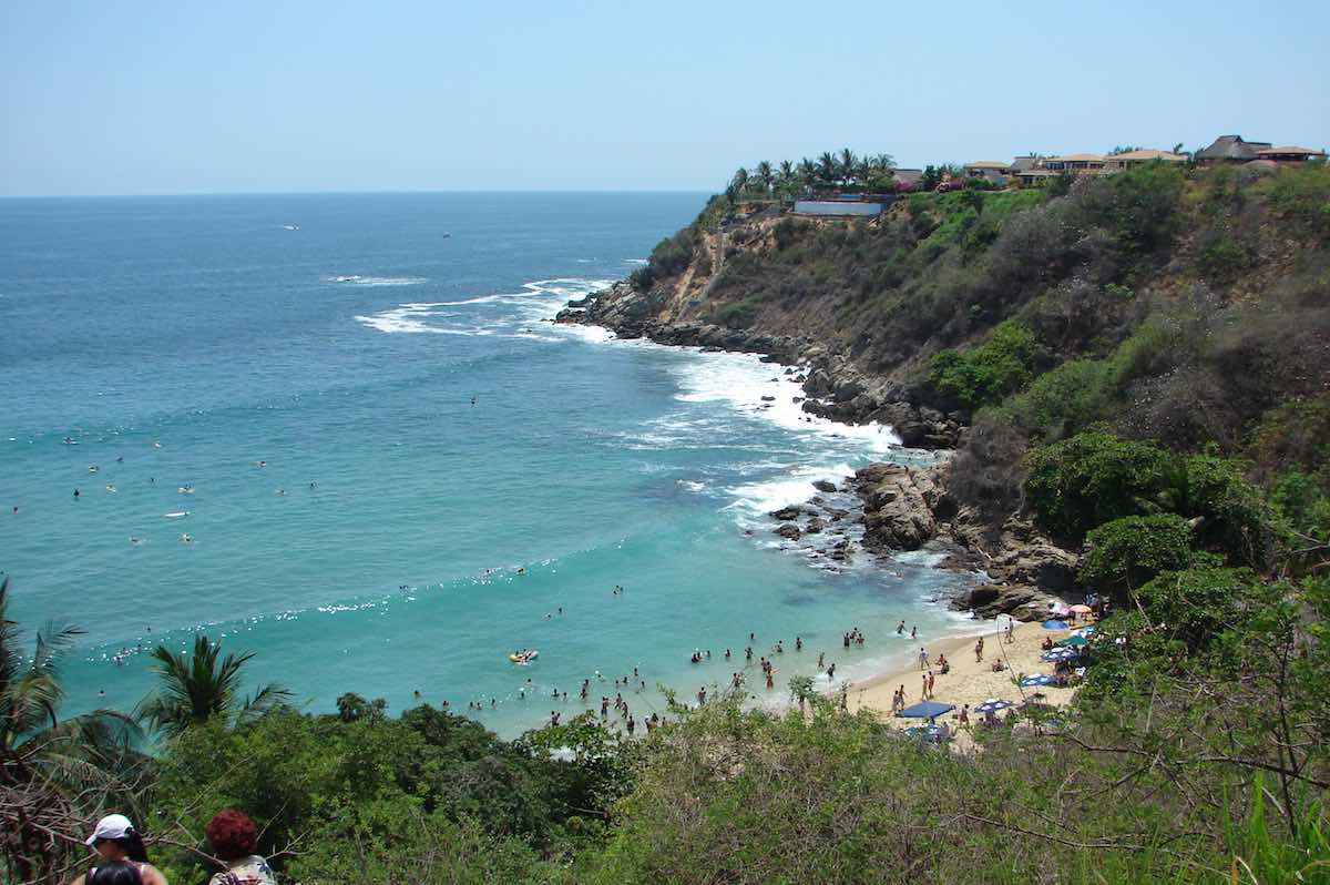 surfen in Mexico