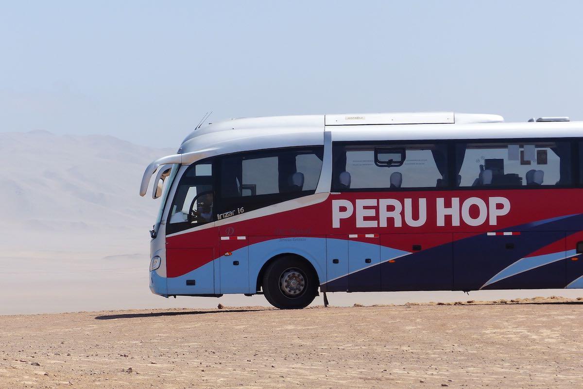 reisroute door Peru