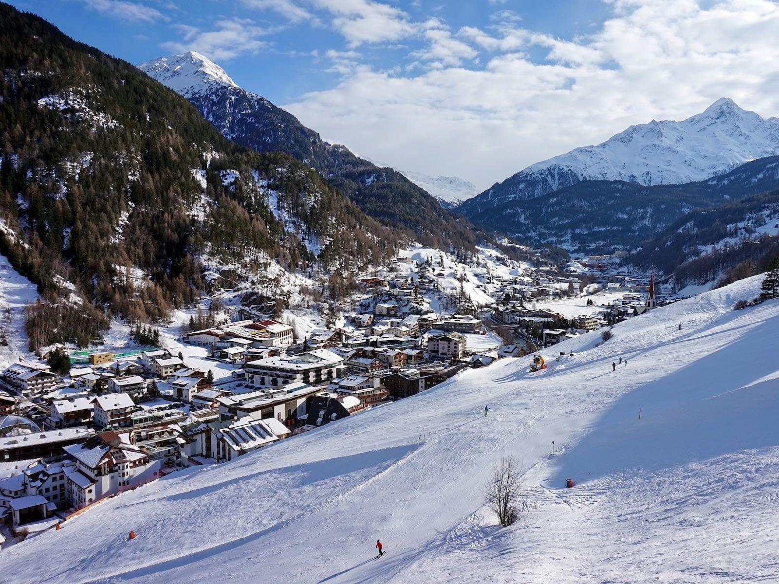 wintersportgebieden in Oostenrijk