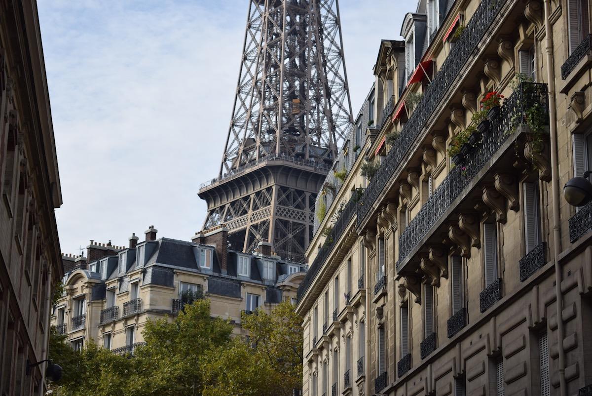 wandelingen in Parijs