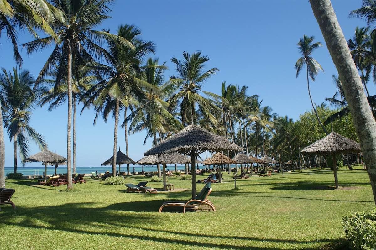 stranden in Kenia