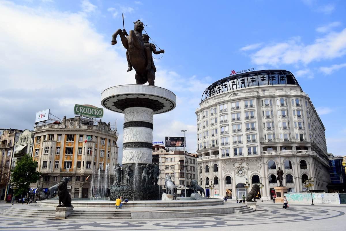 roadtrip door Macedonië