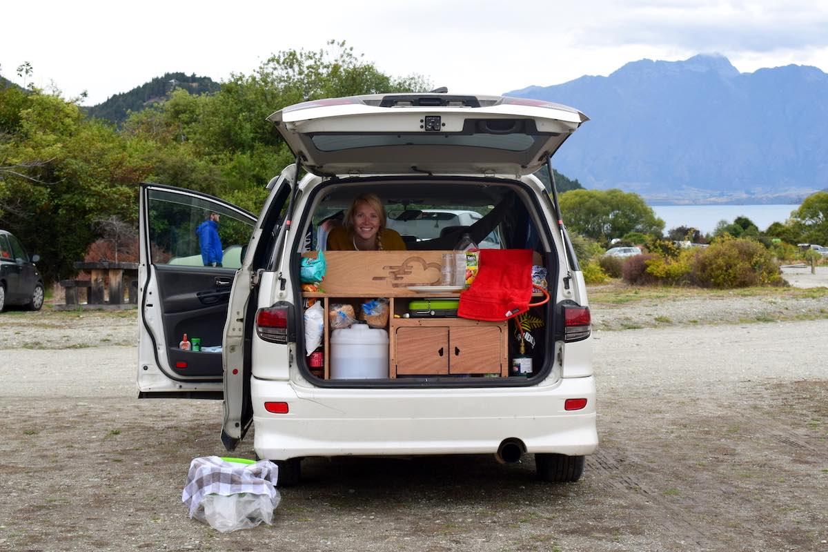 wildkamperen in Nieuw-Zeeland