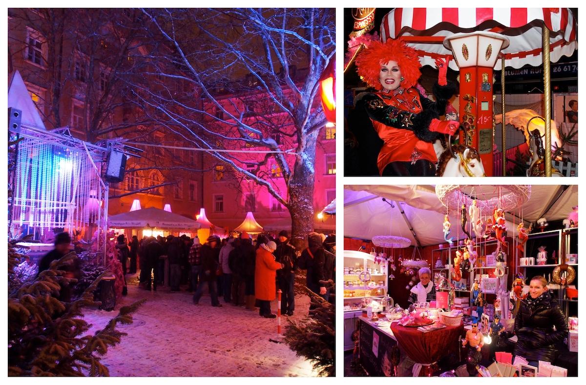 München met kerst