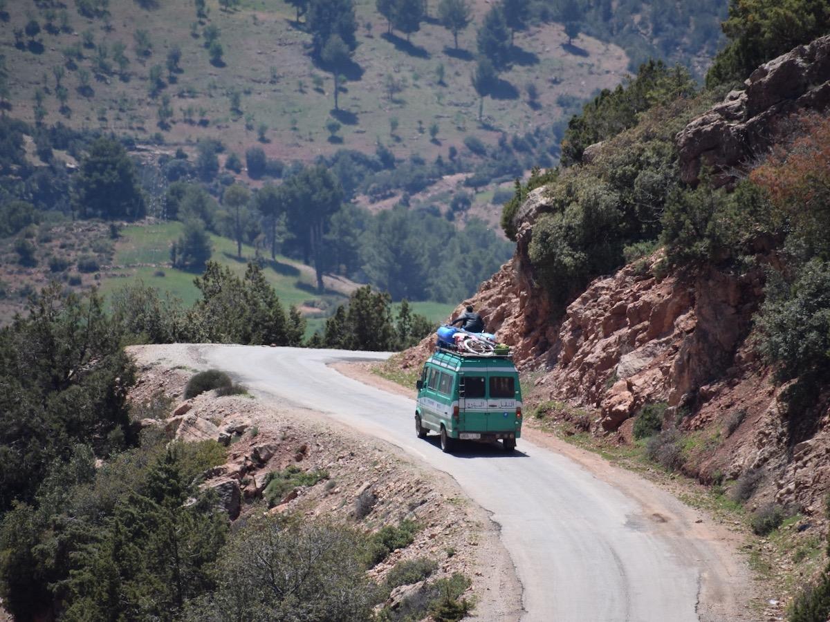roadtrip door het Atlasgebergte