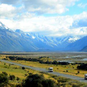budget roadtrip door Nieuw-Zeeland
