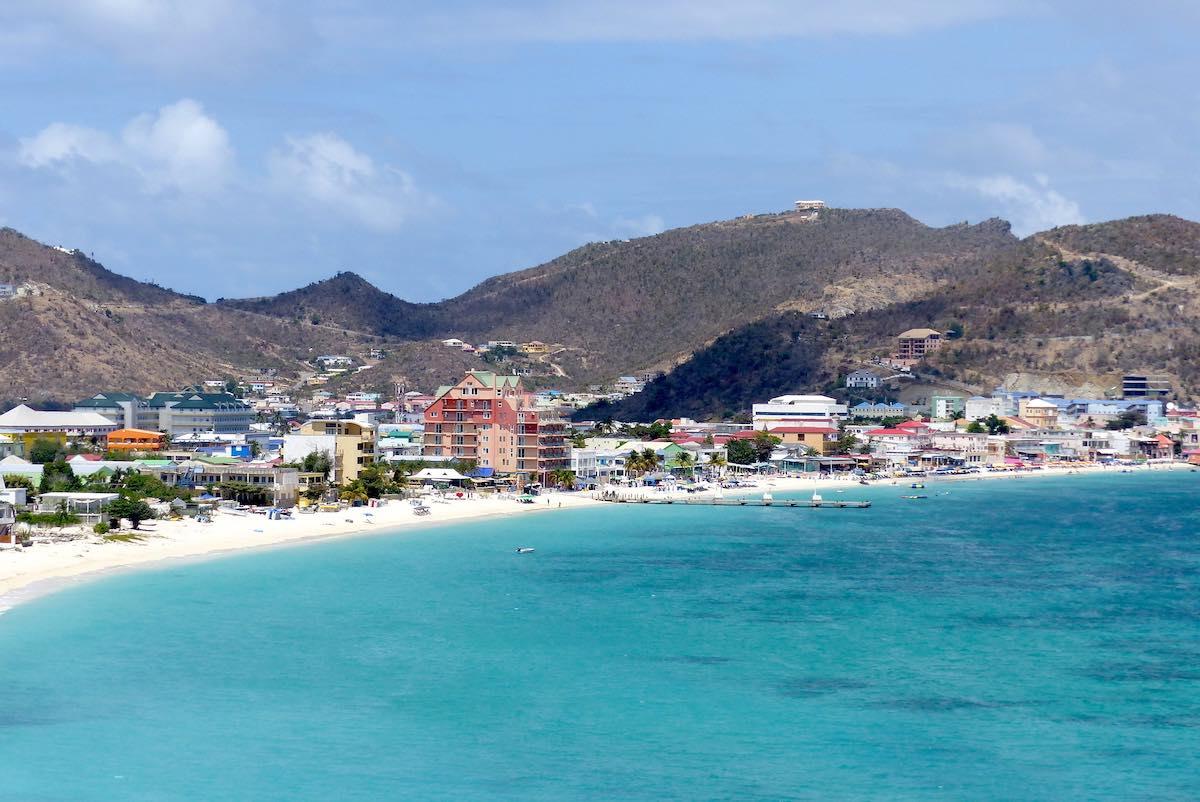 vakantie op Sint Maarten