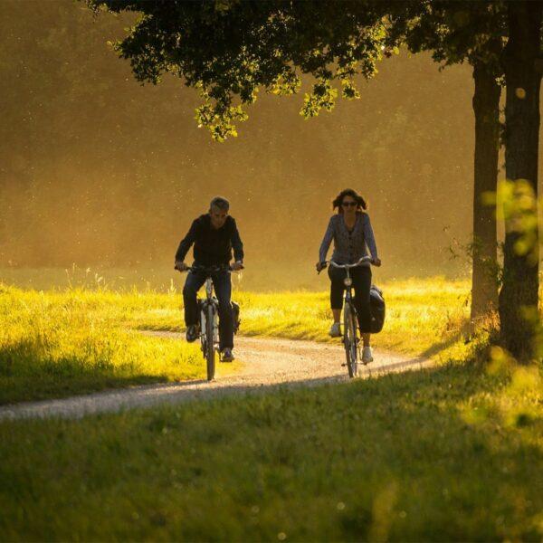 Het Pieterpad per fiets: van Pieterburen naar Sint Pietersberg over het Fietserpad