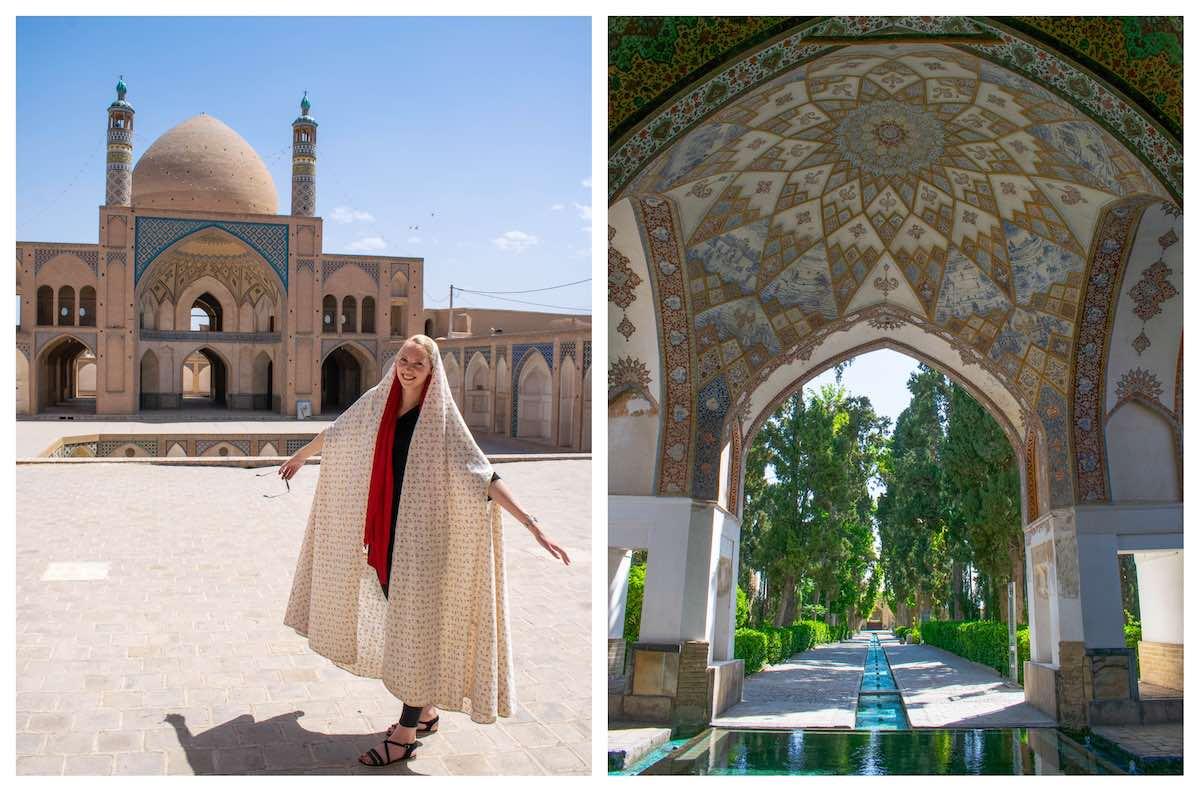 reisroute Iran