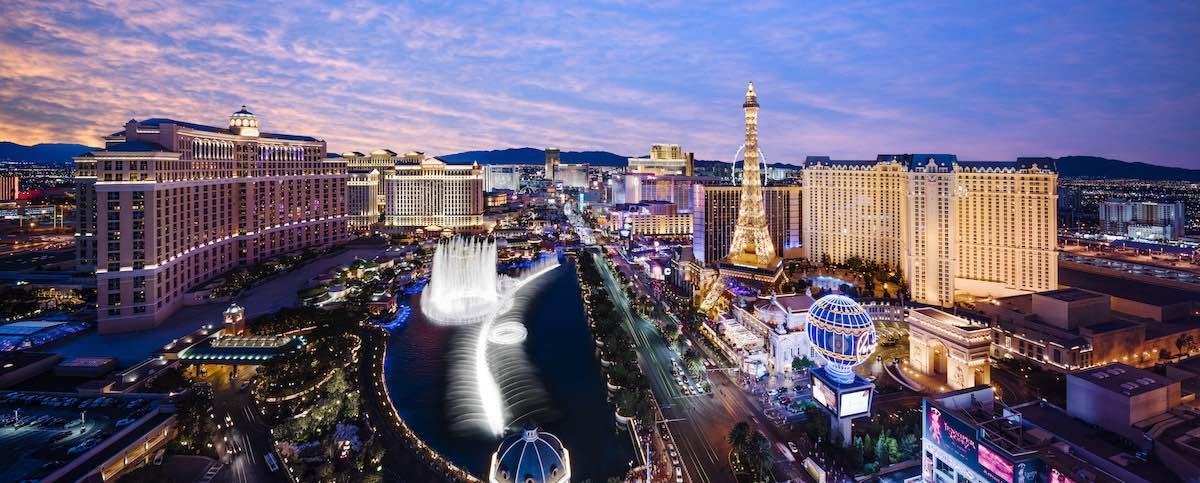 reis naar Las Vegas