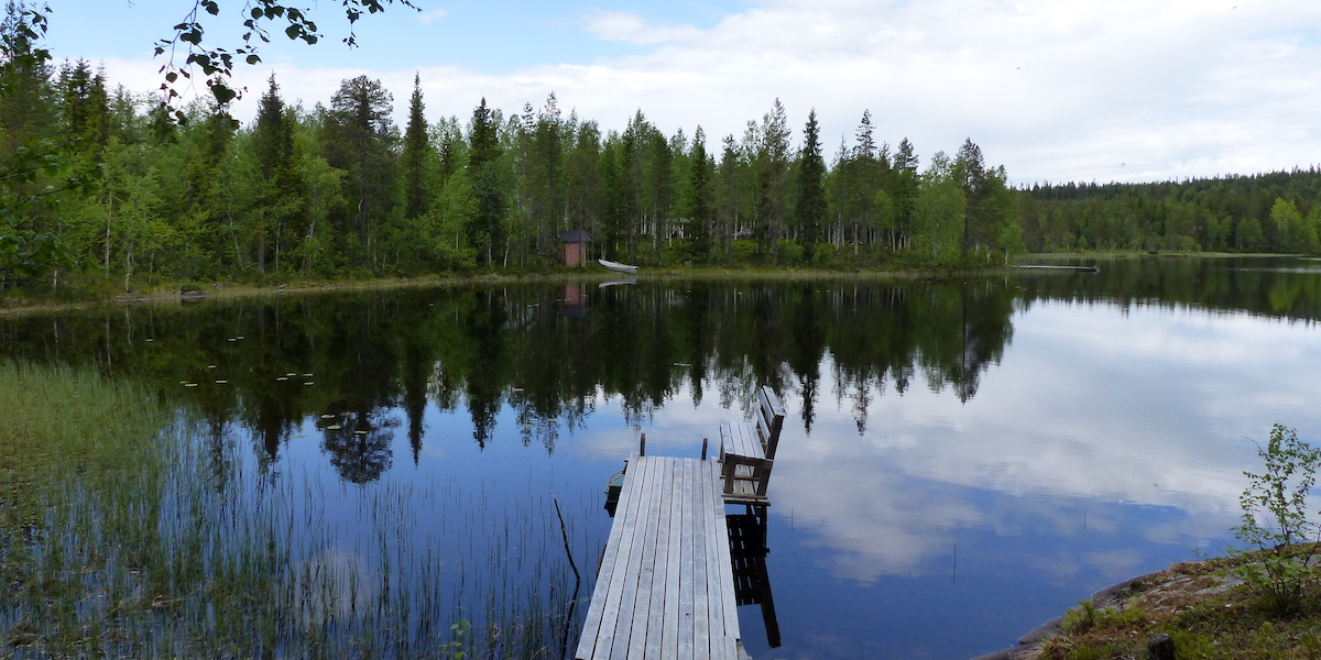 Fins Lapland in de zomer