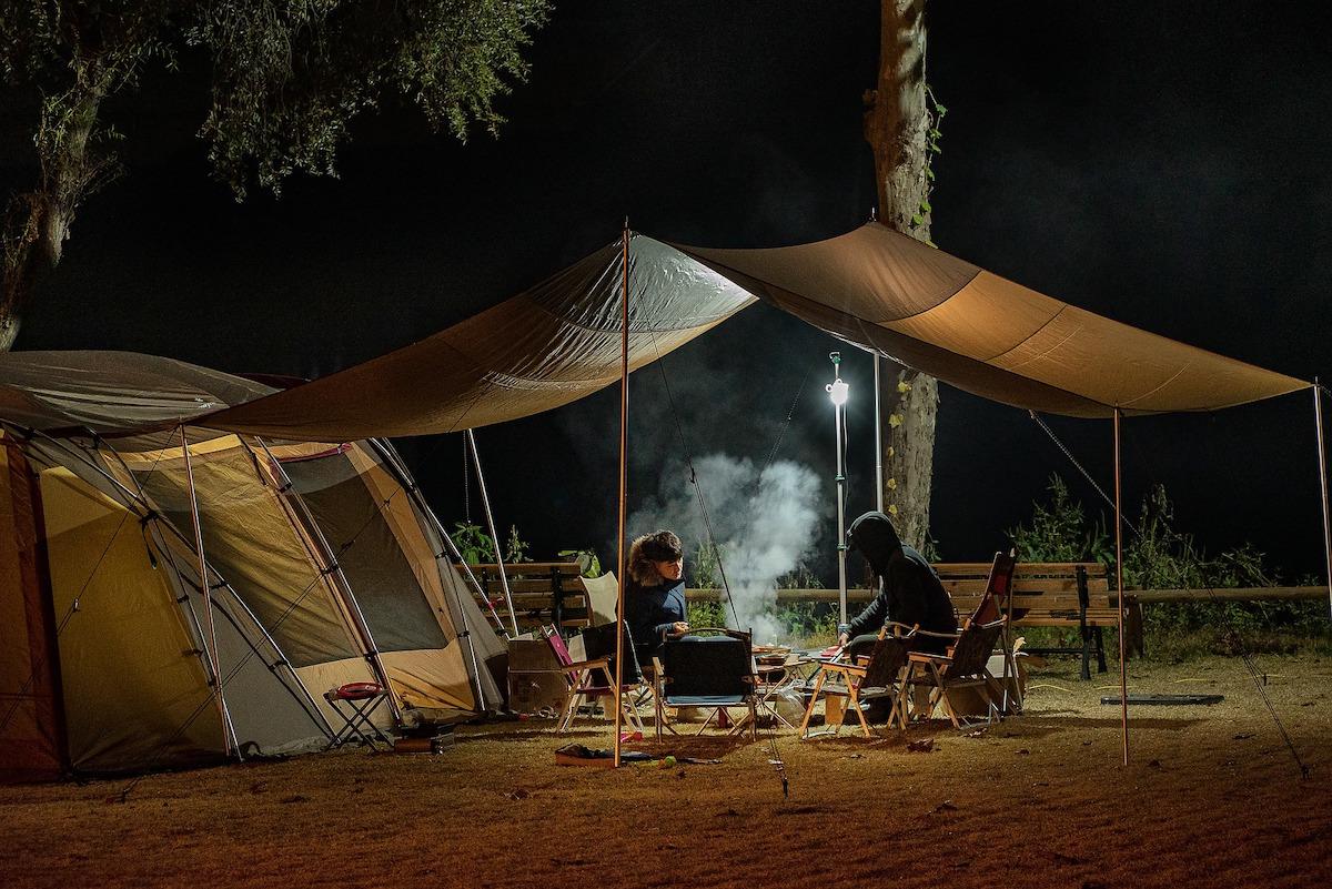 checklist voor de camping